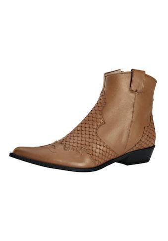 Stiefelette im Cowboy - Stil kaufen