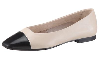 Tamaris Ballerina »LORITA«, mit glänzender Schuhspitze kaufen