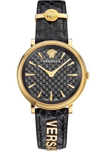 Versace Schweizer Uhr »V - CIRCLE/ LOGOMANIA EDITION, VE8101019« kaufen