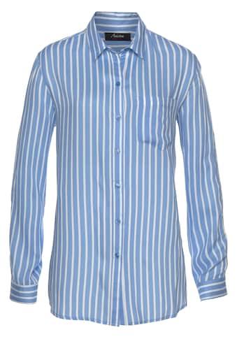 Aniston CASUAL Hemdbluse, mit Galonstreifen kaufen