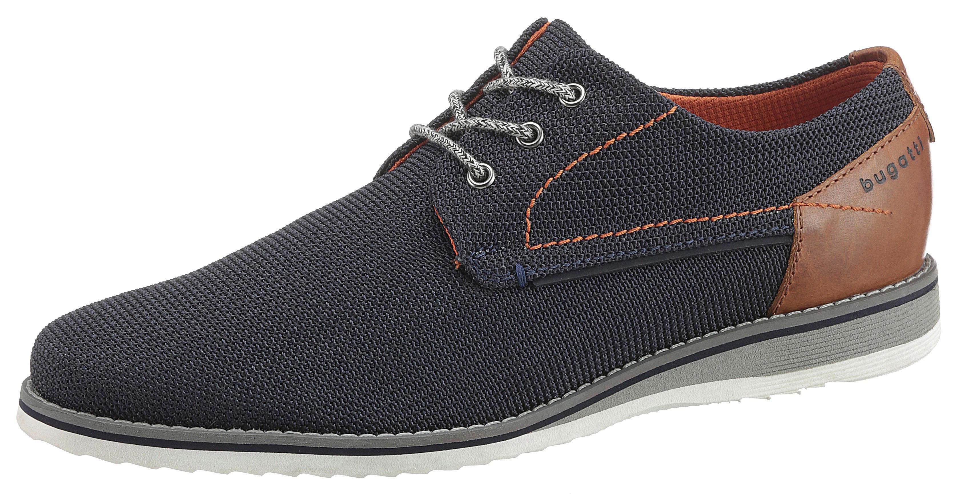 bugatti Schnürschuh Ciro Light | Schuhe > Schnürschuhe | Blau | Textil | Bugatti