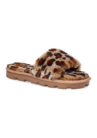 UGG Pantolette »Cozette Leopard« kaufen