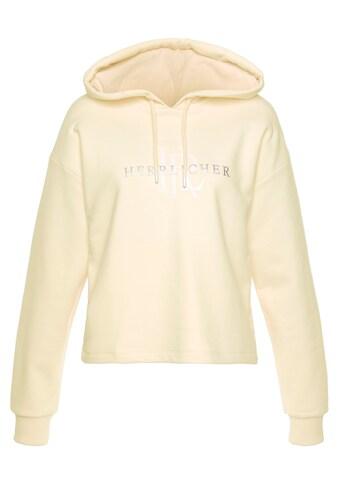 """Herrlicher Sweatshirt »HAVEN«, mit Shiny """"Herrlicher"""" Hologramm- Druck kaufen"""