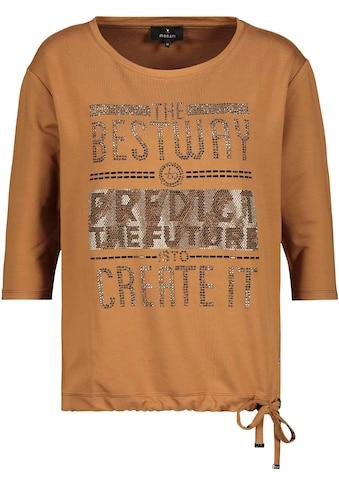 Monari 3/4-Arm-Shirt, mit Glitzerdetails kaufen