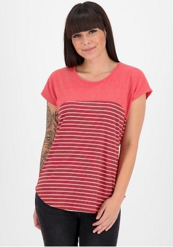 Alife & Kickin T-Shirt »ClaireAK«, gestreiftes Shirt mit abgerundetem Saum kaufen