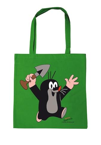 LOGOSHIRT Baumwolltasche mit lizenziertem Originaldesign »Der kleine Maulwurf  -  Juhu« kaufen