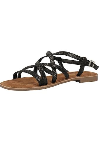 Lazamani Sandale »Leder« kaufen