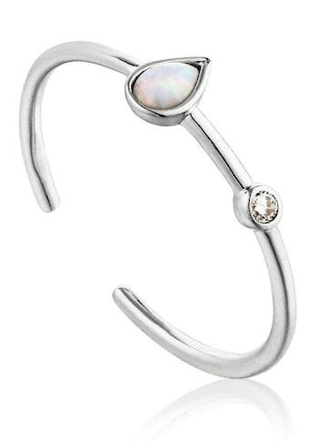 Ania Haie Silberring »Mineral Glow, R014-02H«, mit Opal und Zirkonia kaufen