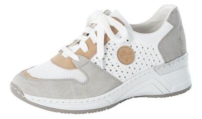 Rieker Wedgesneaker, mit kontrastfarbenen Details kaufen