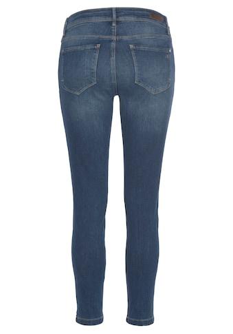 Mavi Skinny-fit-Jeans »ADRIANA ANKLE«, in Crash- und Crinkle-Optik kaufen