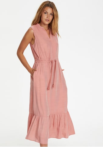Saint Tropez Sommerkleid, mit Kordeln und tunnelzug kaufen