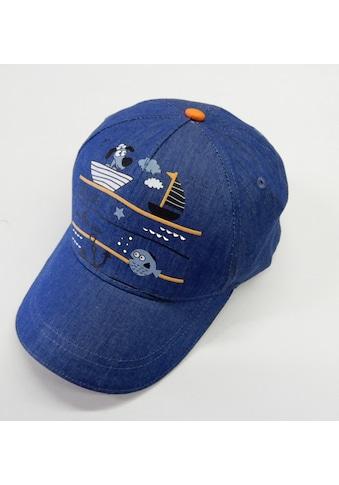 Chaplino Baseball Cap, mit schönem Segelmotiv kaufen