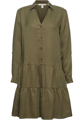 Esprit Volantkleid, im Hemdblusenstil kaufen