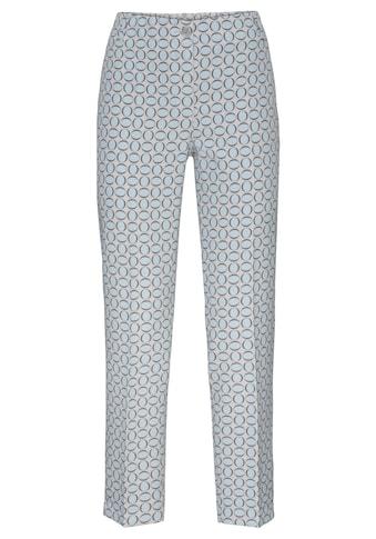 bianca Stretch-Hose »SIENA«, im stilvollem Minimal-Print kaufen