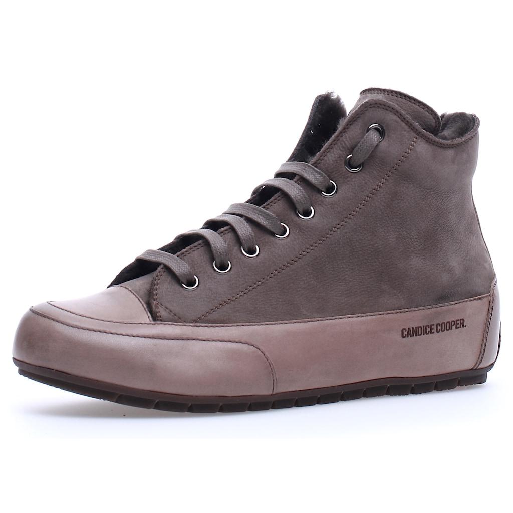 Candice Cooper Sneaker »PLUS FUR«, mit Warmfutter und Innenreißverschluss