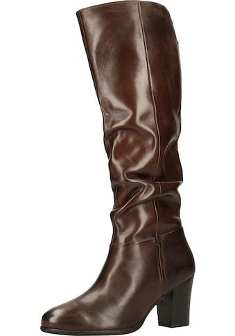 Steven New York High-Heel-Stiefel »Leder« kaufen