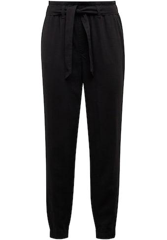 Mavi Schlupfhose »PANTS WITH BELT«, mit elastischen Bund und passenden Bindegürtel kaufen