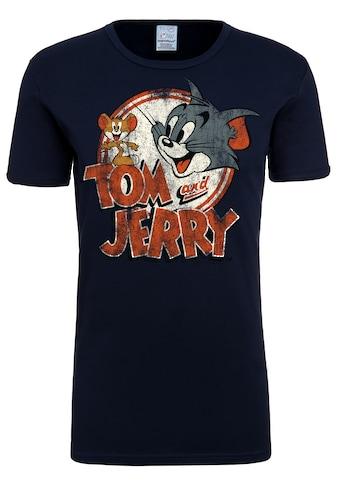 LOGOSHIRT T-Shirt »Tom & Jerry«, mit lizenziertem Originaldesign kaufen