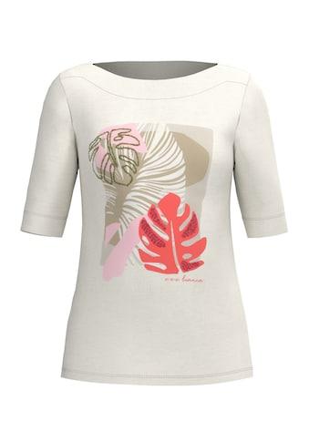 bianca Print-Shirt »PATSY«, mit coolem Frontmotiv und U-Boot Ausschnitt kaufen