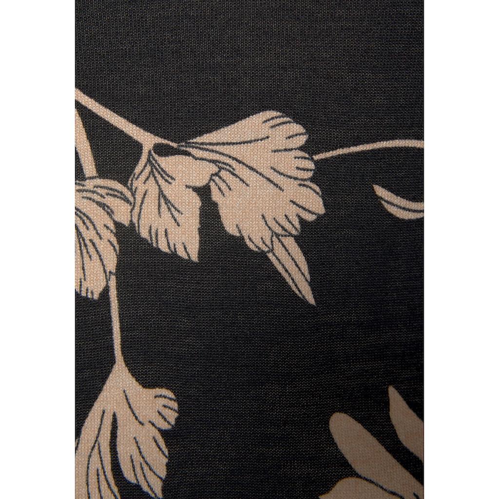 LASCANA Druckkleid, mit floralem Print