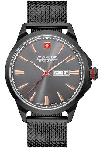 Swiss Military Hanowa Schweizer Uhr »DAY DATE CLASSIC, 06-3346.13.007« kaufen