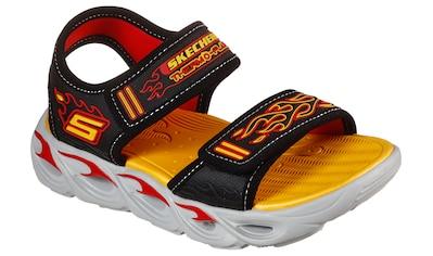 Skechers Kids Sandale »THERMO-SPLASH«, mit Flammen-Applikation kaufen