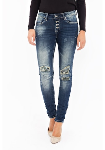 Blue Monkey Skinny - fit - Jeans »Grace 1683« kaufen