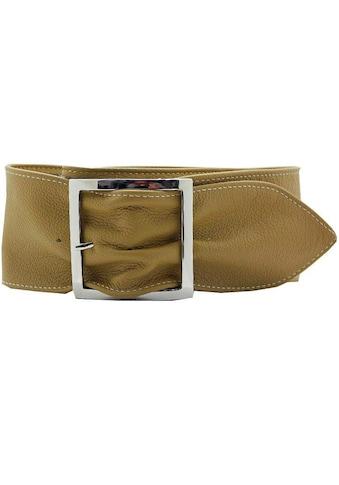 AnnaMatoni Taillengürtel, aus weichem genarbtem Leder kaufen