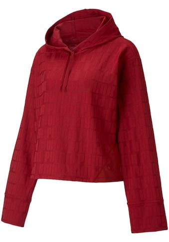 PUMA Kapuzensweatshirt »TRAIN FIRST MILE MONO HOODIE«, Ausgestellte Ärmel kaufen