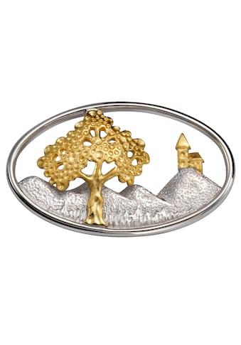 Firetti Brosche »Lebensbaum, Bicolor, rhodiniert« kaufen