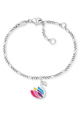 Herzengel Armband »Schwan, HEB-SWAN«, mit Emaille kaufen