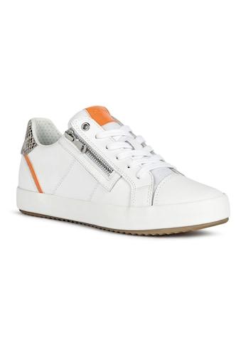 Geox Sneaker, mit seitlichem Reißverschluss kaufen