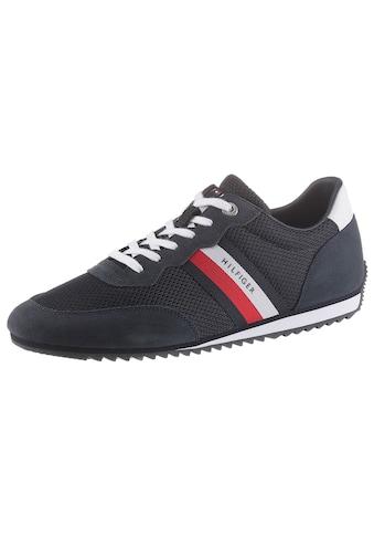 Tommy Hilfiger Sneaker »ESSENTIAL MESH RUNNER«, mit seitlichen Streifen kaufen