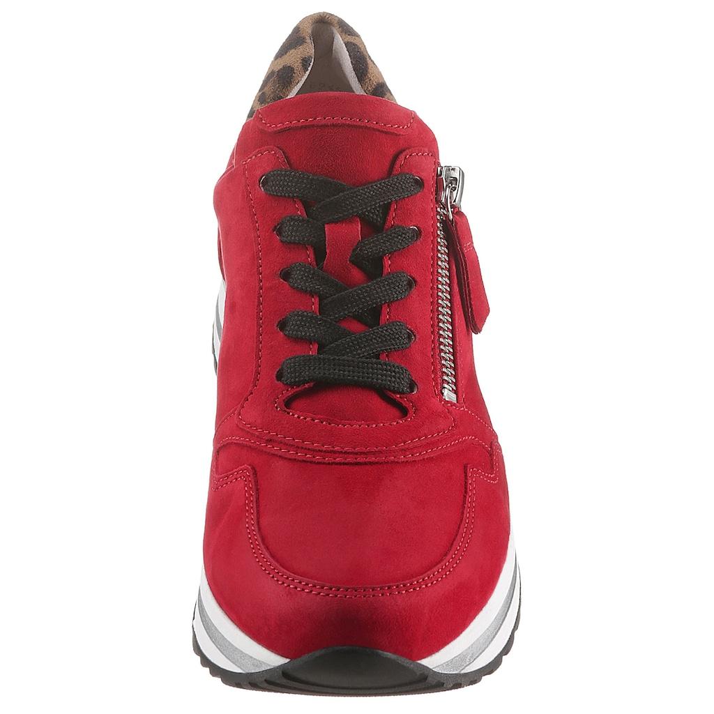 Gabor Keilsneaker, in Komforschuhweite H (=sehr weit)