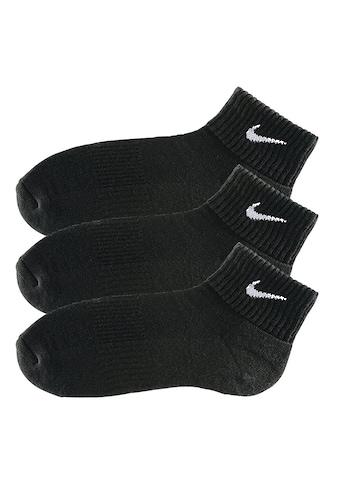 Nike Kurzsocken, (3 Paar), mit weichem Frottee kaufen