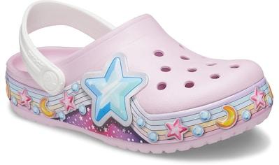 Crocs Clog »Ballerina Pink, FL Star Band Clog K«, mit bunten Sternenmotiven verziert kaufen