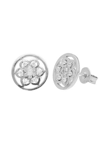 Smart Jewel Paar Ohrstecker »Traumfänger mit Zirkonia, Silber 925« kaufen