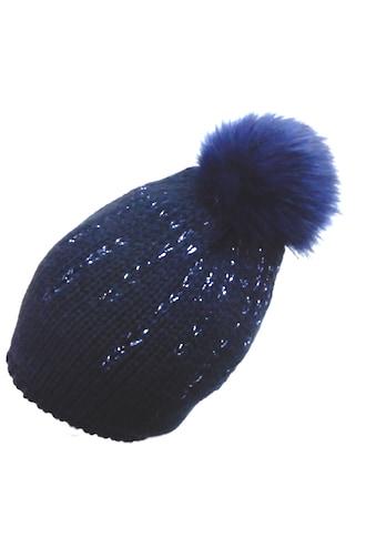 Chaplino Strickmütze, mit glänzendem Garn kaufen