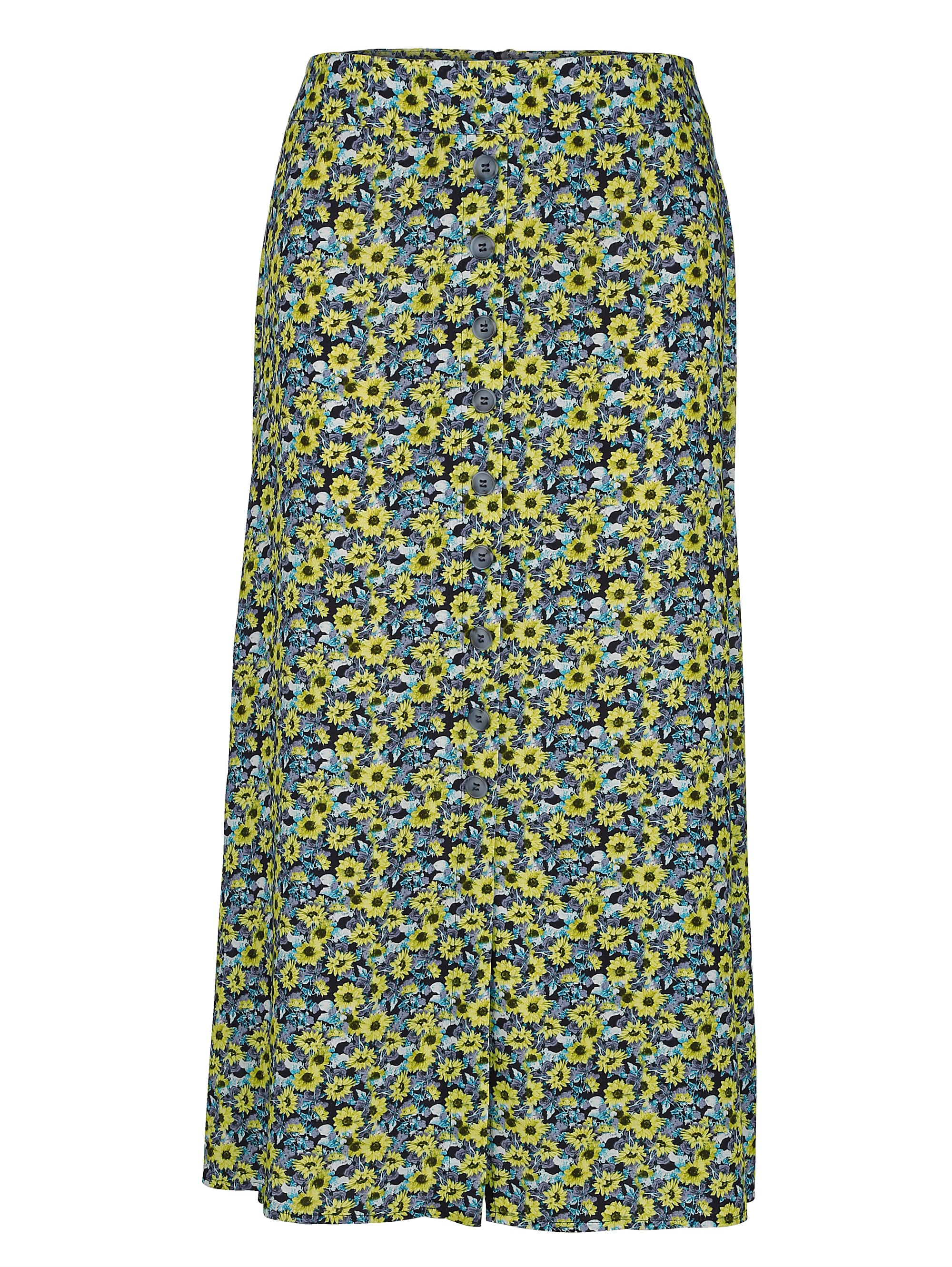 mona -  Sommerrock, mit floralem Muster