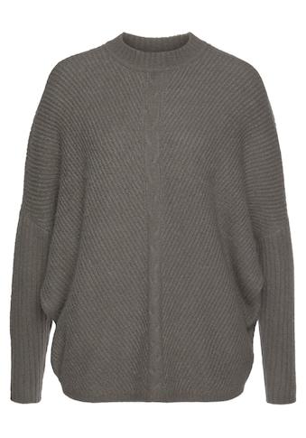 Boysen's Fledermauspullover, mit Zopfmuster - NEUE KOLLEKTION kaufen
