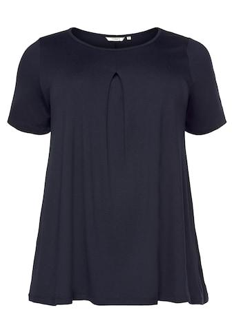 TOM TAILOR MY TRUE ME T-Shirt, mit modischer Keller-Falte vorne kaufen