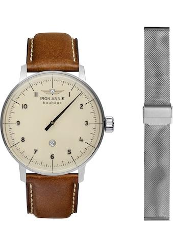 IRON ANNIE Quarzuhr »Bauhaus, Monotimer, Exclusiv bei uns, 5040-5_SET«, (Set, 2 tlg., mit Wechselband) kaufen