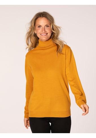 Mona Rollkragenpullover, mit Merino-Schurwolle kaufen