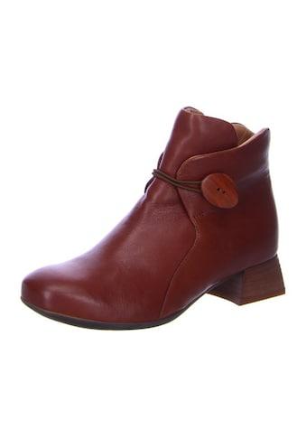 Think! Stiefelette »Delicia«, aus vegetabil gegerbtem Leder kaufen