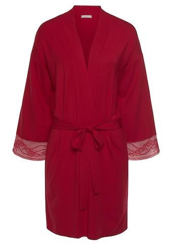 Tommy Hilfiger Kimono, mit Spitze an Ärmelabschlüssen kaufen