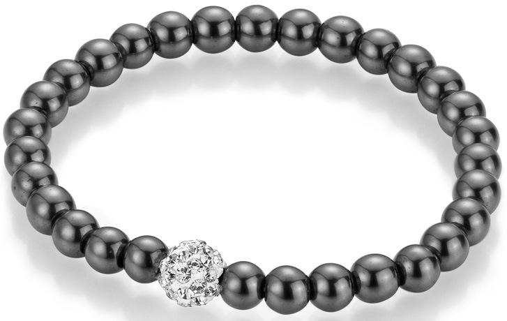 Firetti Armband Perlen aus Hämatit