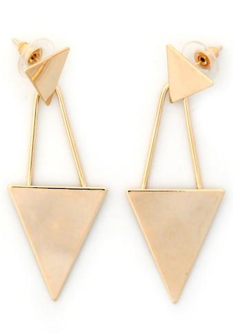 J.Jayz Paar Ohrstecker »Geometrische Form Dreieck, modern, hängend« kaufen