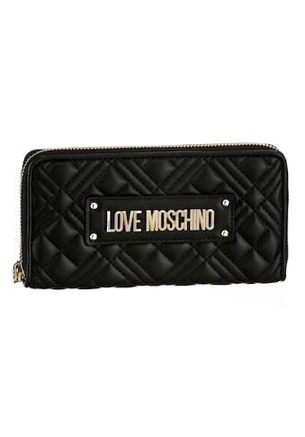 LOVE MOSCHINO Geldbörse, mit modischer Ziersteppung kaufen