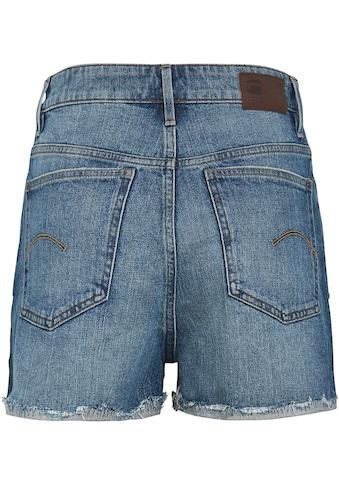 G-Star RAW Jeansshorts »Tedie Ripped Edge Ultra High Shorts«, mit umgeschlagenen,... kaufen