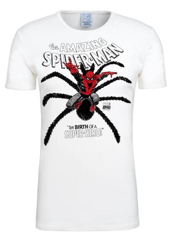 LOGOSHIRT T-Shirt »Spider-Man Birth«, mit lizenzierten Originaldesign kaufen